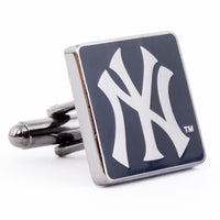 Black Series New York Yankees Cufflinks-Cufflinks-Here Comes The Bling™