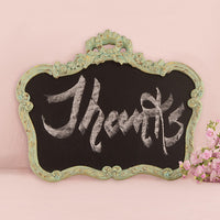 Blackboard in Ornate Vintage Frame in-Decor-Sign-Here Comes The Bling™