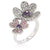 Blossom Fashion Flower Cocktail Ring
