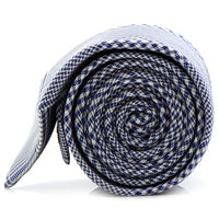 Blue Glen Plaid Silk Tie-Tie-Here Comes The Bling™