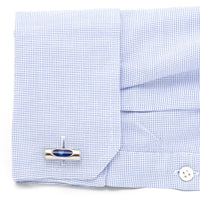 Blue Level Cufflinks-Cufflinks-Here Comes The Bling䋢