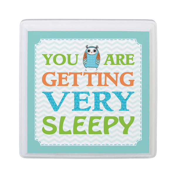 Blue Owl Sleepy Sign-Sign-Here Comes The Bling™