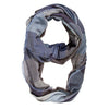 Blue Spencer Plaid Infinity Scarf-Scarf-Here Comes The Bling
