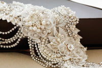 Blyth Bridal Sash by Millieicaro-Sash-Here Comes The Bling™