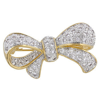 Bow Brooch-Brooches-Here Comes The Bling