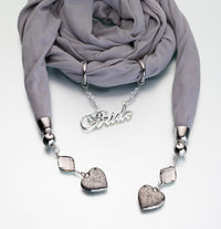 Bride Scarf-Scarf-Here Comes The Bling™