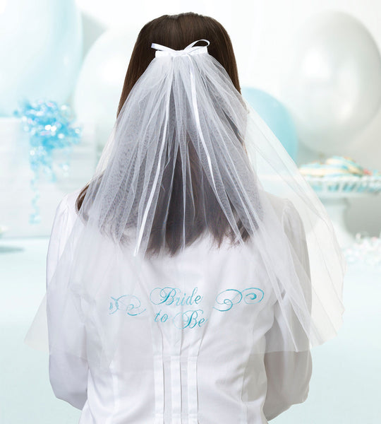 Bride To Be Veil-Veils-Here Comes The Bling™