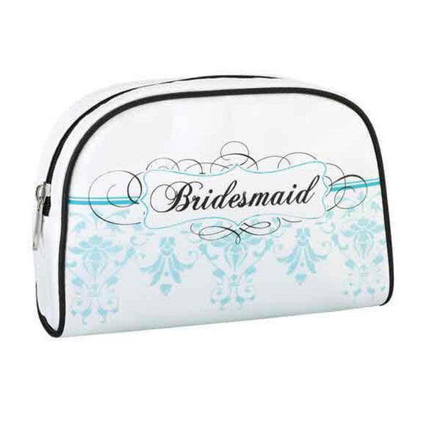 Bridesmaid Travel Bag- Aqua-Pouch-Here Comes The Bling™