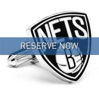 Brooklyn Nets Cufflinks-Cufflinks-Here Comes The Bling™