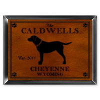 Cabin Series Traditional Pub Sign-Sign-Here Comes The Bling™
