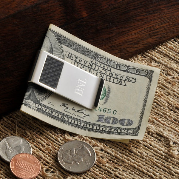 Carbon Fiber Money Clip-Money Clip-Here Comes The Bling™