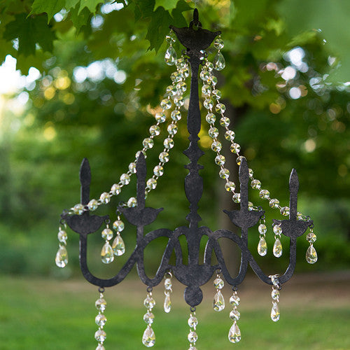Chandelier Silhouette Wall Decoration in Black or White-Decor-Hanging-Here Comes The Bling™