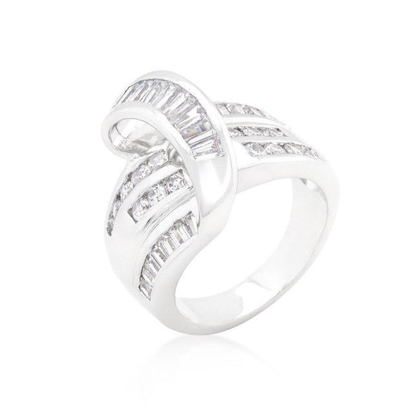 Channel Set Overlap Ring-Rings-Here Comes The Bling™
