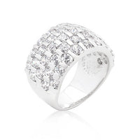 Channel Set Princess Cut Ring-Rings-Here Comes The Bling™