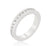 Channel Set Staclkable Eternity Band
