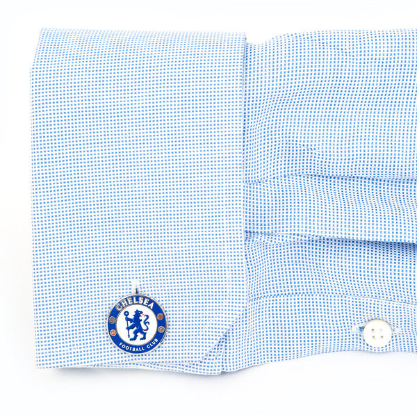 Chelsea FC Cufflinks-Cufflinks-Here Comes The Bling™