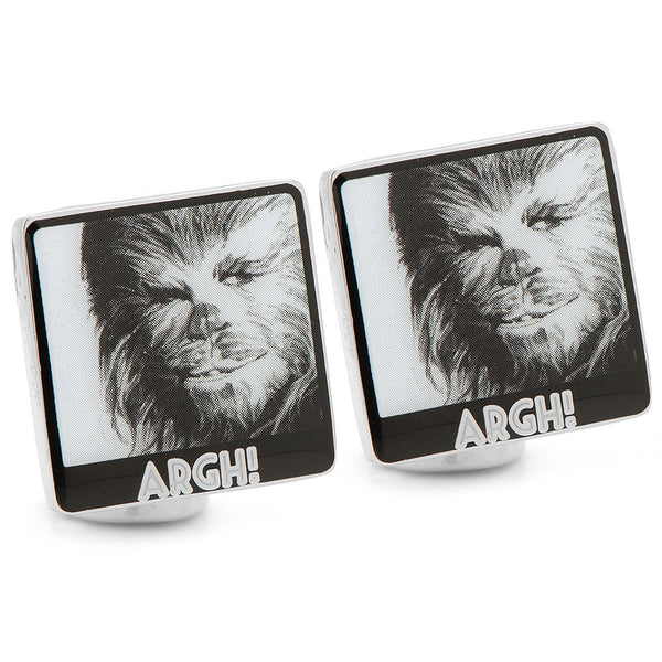 Chewbacca Argh! Cufflinks-Cufflinks-Here Comes The Bling™