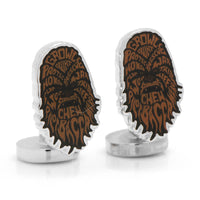 Chewbacca Typography Cufflinks-Cufflinks-Here Comes The Bling™