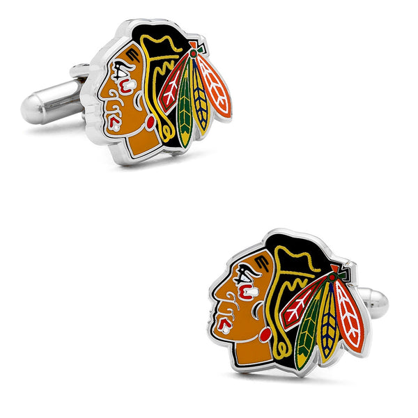 Chicago Blackhawks Cufflinks-Cufflinks-Here Comes The Bling™