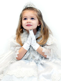 Children's Satin Wrist Glove-Girls-Accessories-Here Comes The Bling™