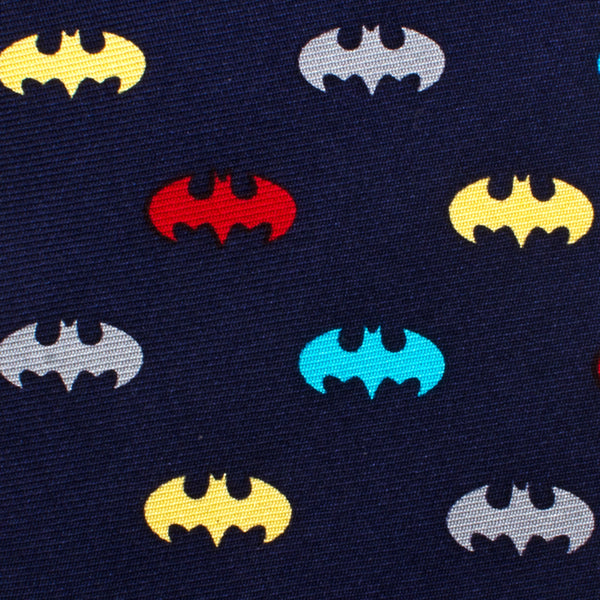 Classic Batman Multi-Color Boys' Zipper Silk Tie-Boys-Ties-Here Comes The Bling™