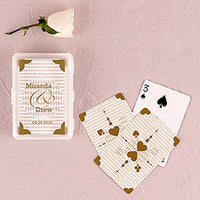 Classic Gold Playing Cards Favor In Gift Case-Favors-Playing Cards-Here Comes The Bling™