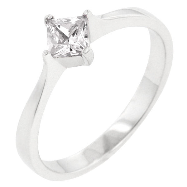 Classic Petite Solitaire Ring-Rings-Here Comes The Bling™