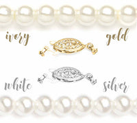 Classic Single Strand Faux Pearl Bracelet-Bracelets-Here Comes The Bling™