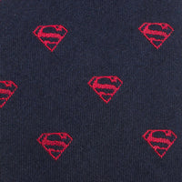 Classic Superman Shield Big Boys' Silk Tie-Boys-Ties-Here Comes The Bling™