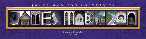 College Campus Art - James Madison University-Art-Here Comes The Bling™