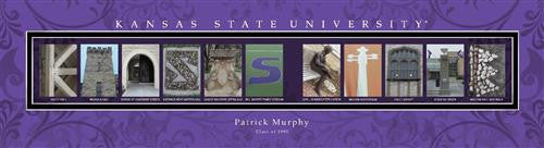College Campus Art - Kansas State University-Art-Here Comes The Bling™