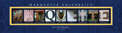 College Campus Art - Marquette University-Art-Here Comes The Bling™