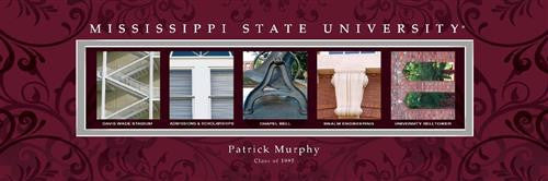 College Campus Art - Mississippi State University-Art-Here Comes The Bling™