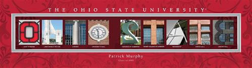 College Campus Art - Ohio State University-Art-Here Comes The Bling™
