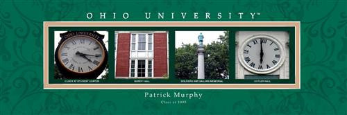 College Campus Art - Ohio University-Art-Here Comes The Bling™