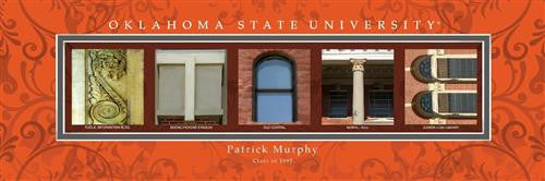 College Campus Art - Oklahoma State University-Art-Here Comes The Bling™
