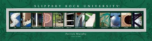 College Campus Art - Slippery Rock University-Art-Here Comes The Bling™