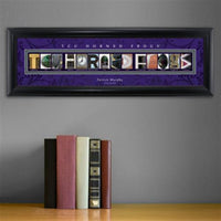College Campus Art - TCU Horned Frogs-Art-Here Comes The Bling™