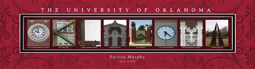 College Campus Art - The University of Oklahoma-Art-Here Comes The Bling™