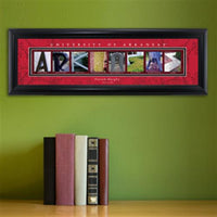 College Campus Art - University of Arkansas-Art-Here Comes The Bling™