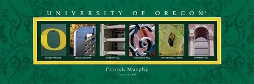 College Campus Art - University of Oregon-Art-Here Comes The Bling™