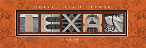 College Campus Art - University of Texas-Art-Here Comes The Bling™