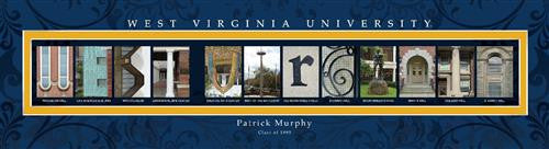College Campus Art - University of Virginia-Art-Here Comes The Bling™