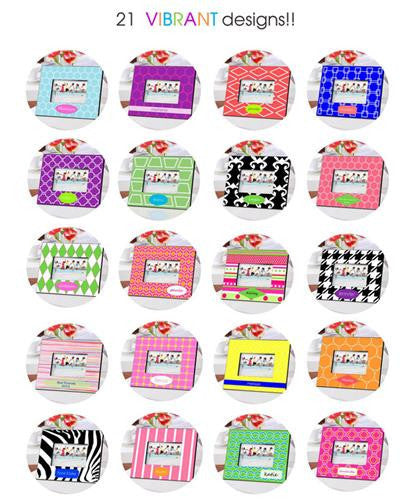 Color Bright Frames - Beach Blanket-Frames-Here Comes The Bling™