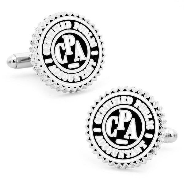 CPA Seal Cufflinks-Cufflinks-Here Comes The Bling䋢