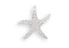 Crystal Starfish Fashion Slide-Pendants & Charms-Here Comes The Bling™