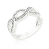 Cubic Zirconia Infinity Band-Rings-Here Comes The Bling™