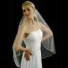 Hand Sewn Beaded Edge Bridal Veil