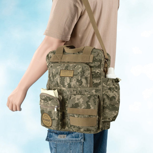 Daddy Military Diaper Bag