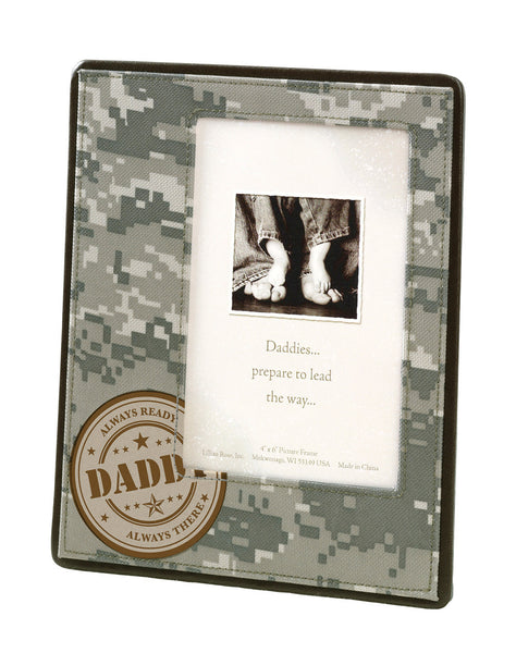 Daddy Military Frame-Frames-Here Comes The Bling™